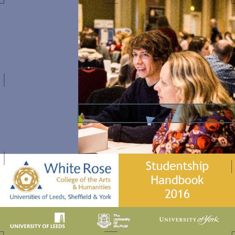 Studentships manual 2016